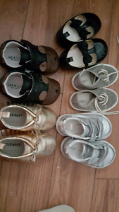 Girls shoes 6 to 12months