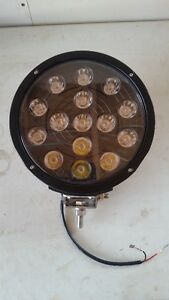"9"" LED lights"