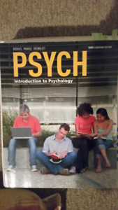 Introduction to psychology: third edition