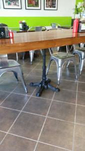 Beautiful elegant cast iron table bases. Brand New! BASES ONLY!