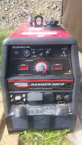 Lincoln 305G ranger welder with cable *Like New 61 hours*