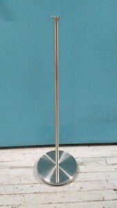 Set of 2 stainless steel IKEA GAJE speaker stands - $10 today!