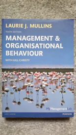 Management & Organisational Behaviour 10th Edition - Laurie J. Mullins