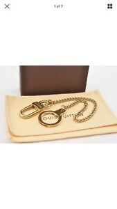 Authentic Louis Vuitton gold chain for pouch or wallet!!
