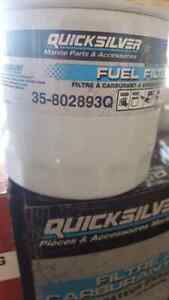 Mercury mercruiser oil and fuel filters