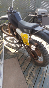1981. yamaha IT 250 2 STROKE 900 $ works excellent