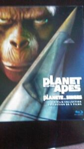 Planet Of The Apes Trilogy Movie Box set [Blu-ray]