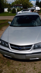 2003 chevy impala..with remote start,2sets of tires
