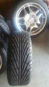 5 Bolt 120 Mirage RIMS/TIRES SET