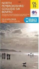 North & south Pembrokeshire os explorer maps