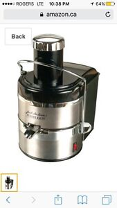 Power juicer used once