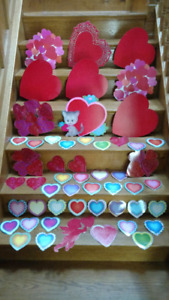 79 Valentine's Day laminated decorations
