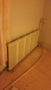 Selling Cast iron radiator various size appx 2'X6-8' and some s