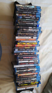 41 Movie Blu Ray Collection + Samsung Blu-Ray Player for Sale