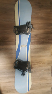 Limited Snowboard and Solomon Bindings