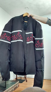 Men's motorcycle coat