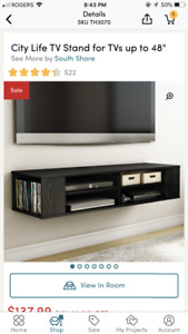 TV Stand for Sale. Brand New. Bought off Wayfair.