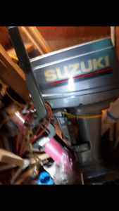 Suzuki 15hp Outboard motor for sale
