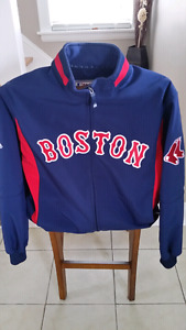 Boston Red Sox Majestic Navy On-Field Therma Base Thermal