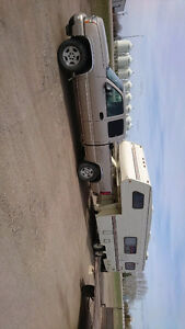 06 Chev 1500 4x4 & 5th wheel camper package deal