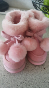 Baby girl boots size 2.
