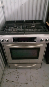 Gas range/stove Kitchenaid - great price!!