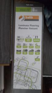 New In Box- Traffik Laminate Florring-German Made 12 MM