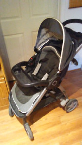 Step and go stroller