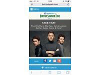 2X Take That tickets