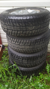 4x Winter Himalay Federal Tires