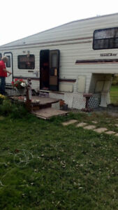 1990 travelaire 5th wheel 32ft trailer for sale