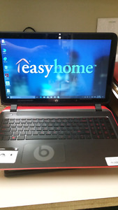 HP laptop with beats speakers $350