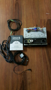 JVC Head Unit with SiriusXM Satellite Radio Kit