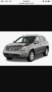 2010 Nissan Rogue S SUV, Roof rack