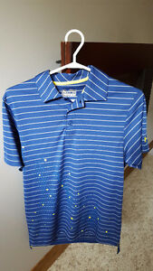 Under Armour Striped Polo - for sale
