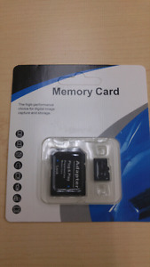 Micro SD card 128GB with adopter