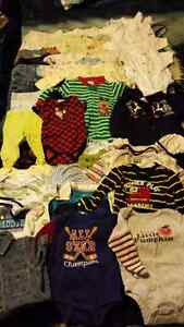 Baby boy clothes lot 0-6 month Prince George British Columbia image 1