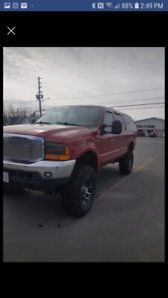 2000 Ford Excursion SUV, Crossover