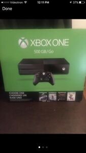 New sealed xbox one bundle/ 1000gn xbox one limited edition