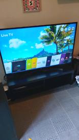 "LG 55"" television 4k HD smart"