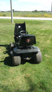 """13 HP MTD riding mower, 38"""" deck. Clean well maintained machine"""