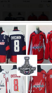 Alex Ovechkin jersey Stanley cup