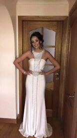 Stunning White Prom Dress