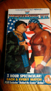 (VERY RARE///SEALED)  Vintage WWF WrestleMania 7 (VII)
