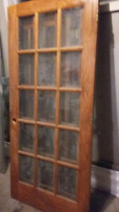 French doors solid pine