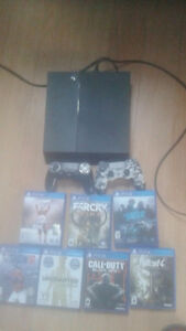 Obo Mint condition ps4 + games and 2 controllers