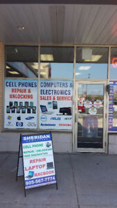 Cell phone unlock and repair service.