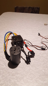 1/8 motor/esc brushed/brushless