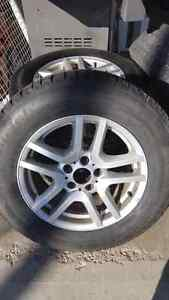Winter tires and Rims (BMW) 235/65 R17 with 5x120 Bolt pattern