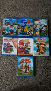 $5 KIDS BLURAYS